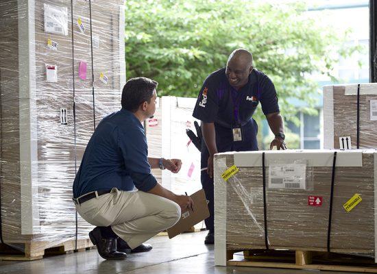 FedEx International PriorityR Freight -2